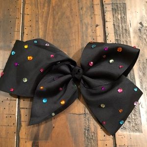 Black Jojo hair bow 🎀